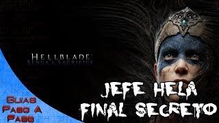 Video de Hellblade Senua's Sacrifice   Combate contra el jefe final Hela   Escena final secreta
