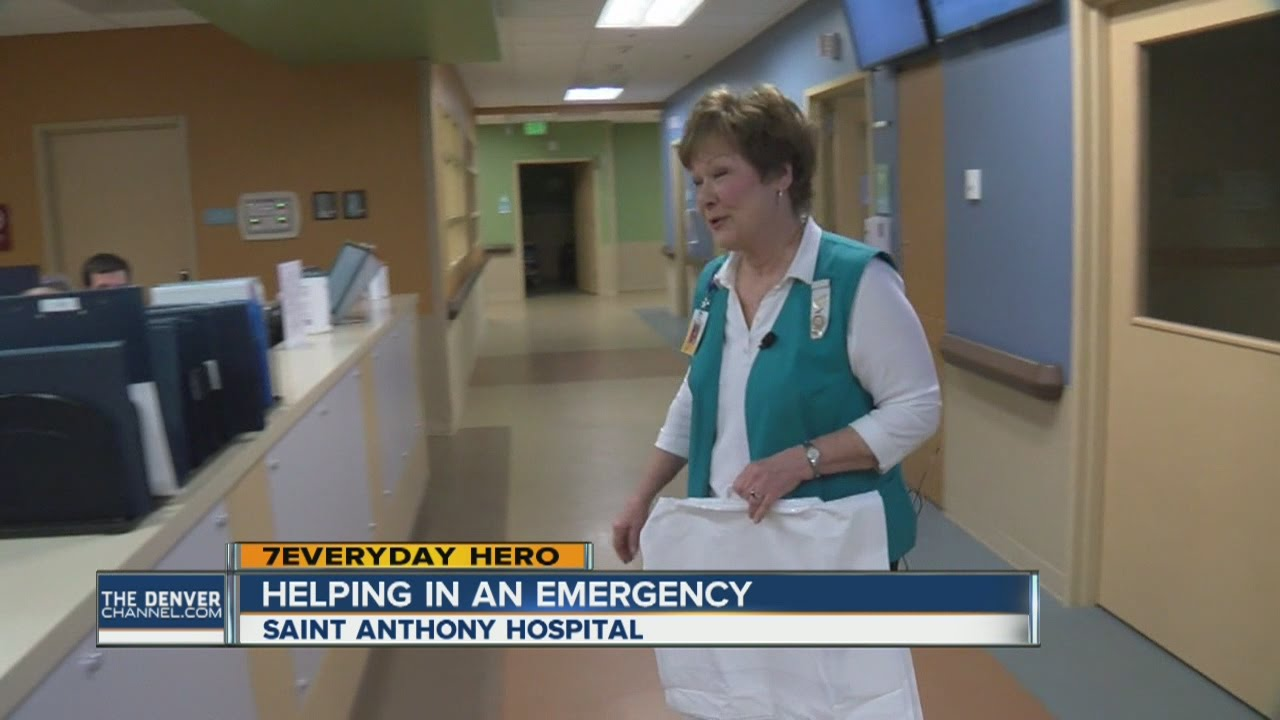 7Everyday Hero Mary Voita volunteers at Lakewood's Saint Anthony Hospital ER