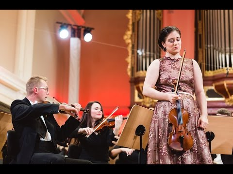Veriko Tchumburidze plays Shostakovich Violin Concerto no. 1 in A minor, Op. 77 | STEREO