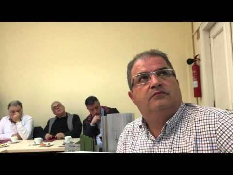Intervención de Andres Bustelo, de Extrugasa, en la Jornada de Aluminio Offshore de Metal Cluster.