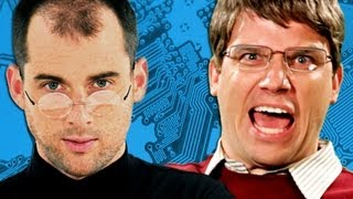 Steve Jobs vs Bill Gates.  Epic Rap Battles of History Season 2.(, 2012-06-14T07:01:29.000Z)