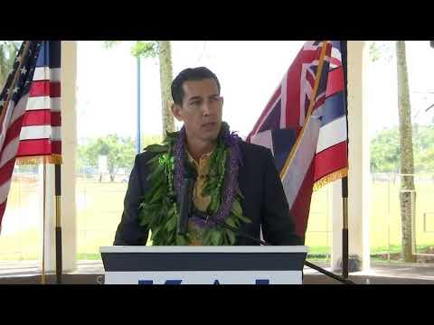 Hawaii state Sen. Kai Kahele announces run for Congress