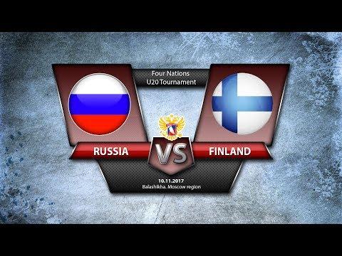 4 Nations. U20 Russia - Finland