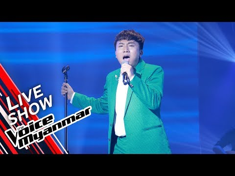 Nicholas Pasangma: Shallow (Lady Gaga, Bradley Cooper)   Live Show - The Voice Myanmar 2019
