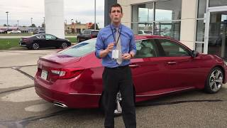 2018 Honda Accord Touring 1.5 L Turbo presented by Jeremy Rees of Victory Honda in Muncie Indiana