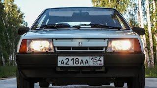 Ранняя Девятка из Сибири ВАЗ-2109 1987 года Полный Оригинал Сохран