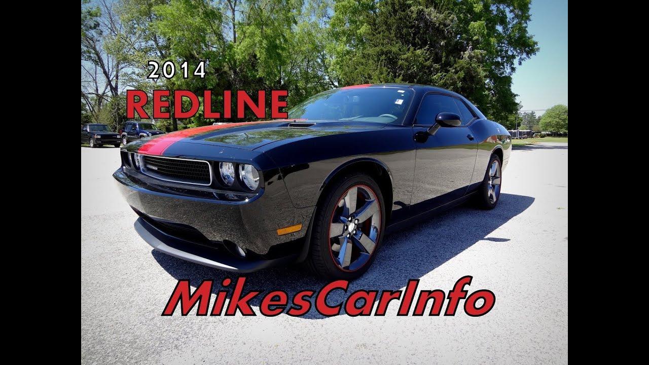2014 Dodge Challenger Sxt Rallye Redline Youtube