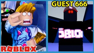 GUEST 666 IS BACK!! - Roblox Guesty Ending