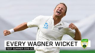 Every wicket: Neil Wagner's 17 Aussie scalps