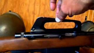 Squires Bingham Arms Corporation Kasnar model 16 .22 Semi Auto Rifle