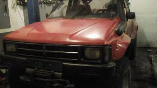 Toyota Hilux 1988 restoration