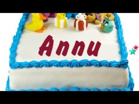 Happy Birthday Annu Youtube