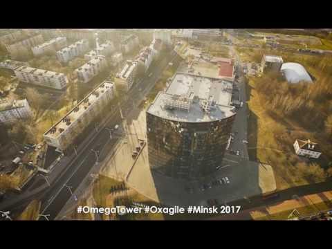 Timelapse Minsk Business Center Omega Tower