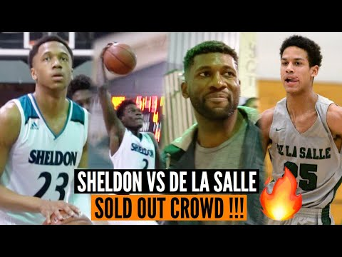 Norcal Open: Sheldon vs De La Salle | Sold Out Crowd with NBA & NFL Players In Attendance