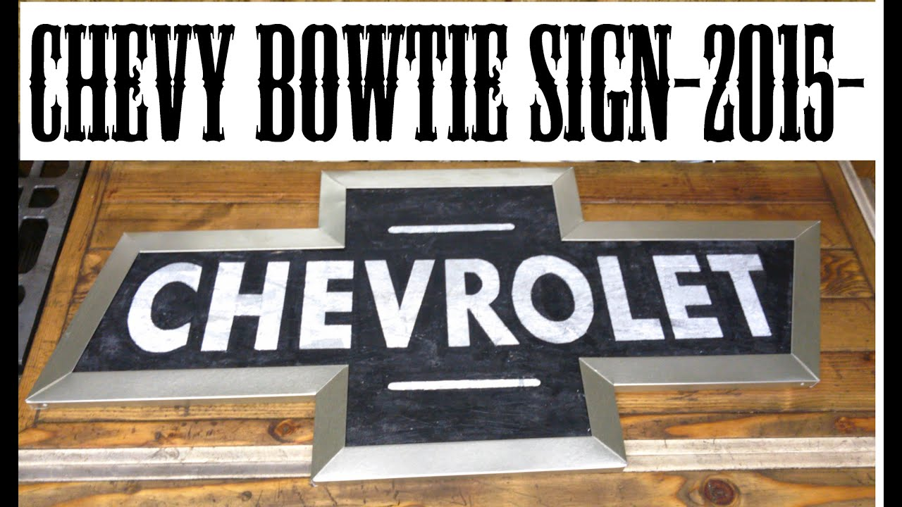 Chevy bowtie sign timelapse build youtube chevy bowtie sign timelapse build biocorpaavc Images