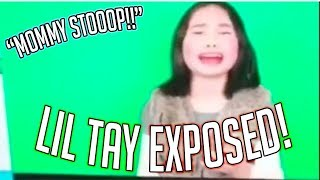 """""""Lil Gucci Tay"""" Breaks Character again? Lil Tay Exposed!"""