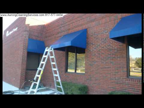 Cleaning Sunbrella Canvas Awnings In Dallas Fort Worth Tx