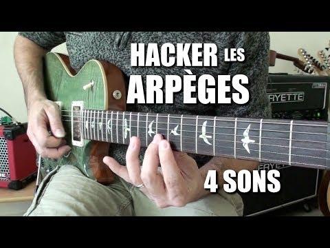 HACKER les ARPEGES à 4 sons - POWER CORDE