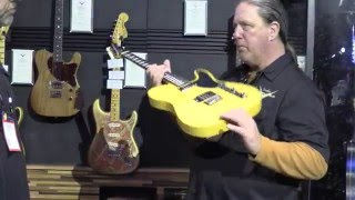 Fender Masterbuilder Todd Krause and his New Creations • NAMM 2016