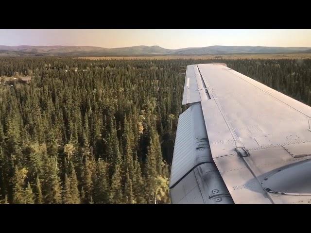 Landing in Tok, AK