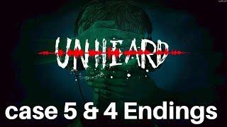 Unheard - Fifth Case & 4 Endings Mental Hospital Gameplay Walkthrough