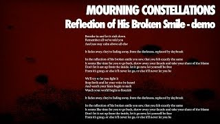 Reflection of His Broken Smile (demo) -  Mourning Constellations