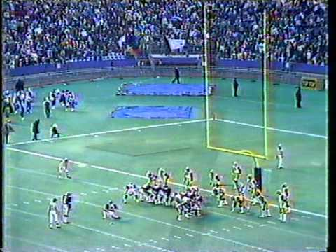 1983 CFL Eastern Final - Argos vs. Tiger-Cats, Part 13