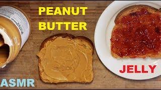 Peanut Butter Jelly Sandwich | ASMR