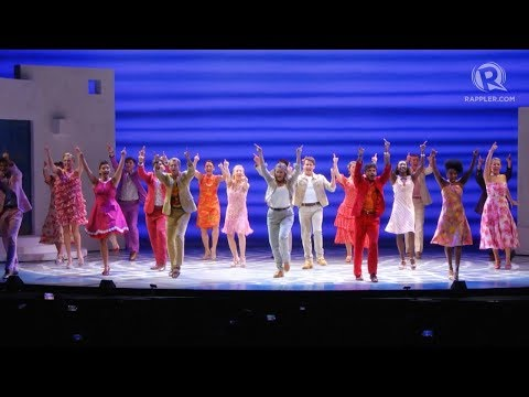 International touring cast performs 'Mamma Mia'