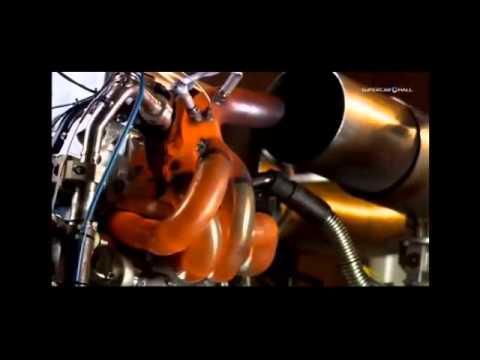 Essai d'un moteur F1