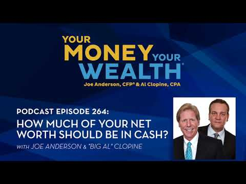 How Much of Your Net Worth Should Be in Cash? - Your Money, Your Wealth® podcast #264