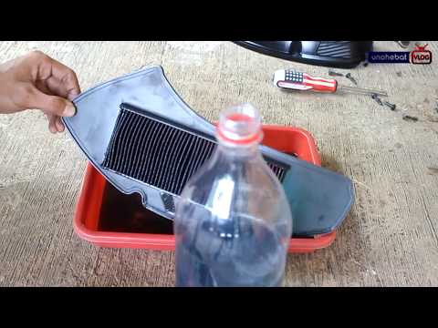 Tips Hemat Membersihkan Filter Udara Motor