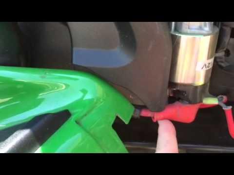 John Deere X300 solenoid fix - YouTube