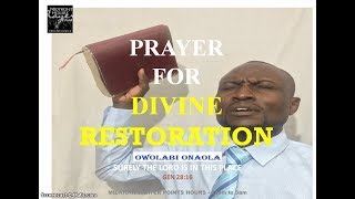 Prayer Against Physical and Spiritual Enemies 1 - Onaola