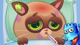 Котик БУБУ ухаживаем и заботимся о ДОМАШНЕМ ПИТОМЦЕ Развивающая Игра для ДЕТЕЙ