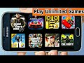 [0 KB] Play Unlimited Android Games Without Downloading | Like PUBG Mobile