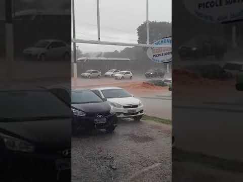 Rondonópolis - Detran alagado
