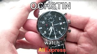 OCHSTIN с алиэкспресс . Розпаковка годинника OCHSTIN з AliExpress. OCHSTIN chronograph watch