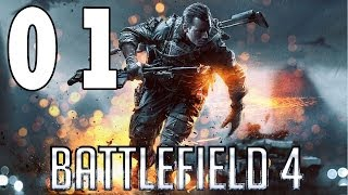 Let´s Play Battlefield 4 Gameplay Deutsch - Part 1 - Zu diesem Song sterben wir nicht !