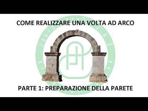 Creazione Volta Ad Arco - Parte 1: Preparazione Parete