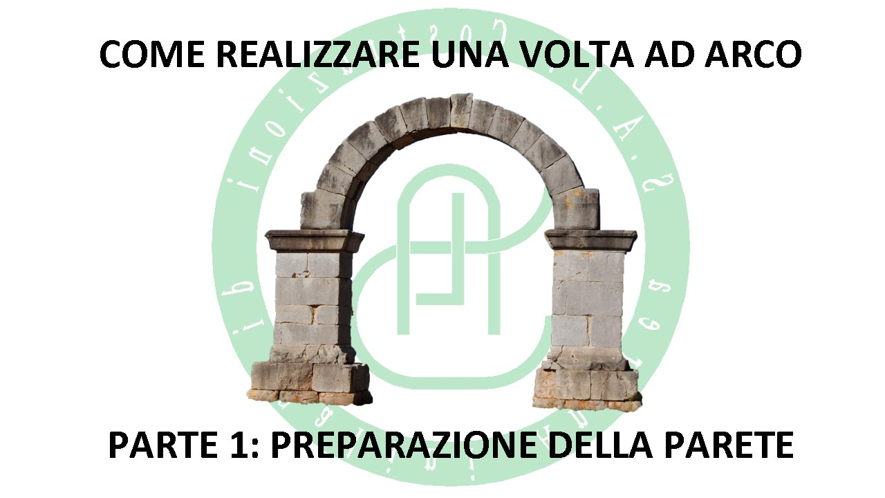 Rivestire Un Arco In Legno creazione volta ad arco - parte 1: preparazione parete
