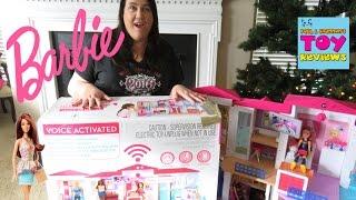 Video Barbie Hello Dreamhouse Magic Dollhouse Unboxing Toy Review Fashionistas DC Super Hero Girls | PSToy download MP3, 3GP, MP4, WEBM, AVI, FLV April 2018