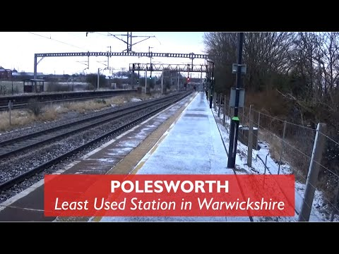 Polesworth - Least Used Station In Warwickshire
