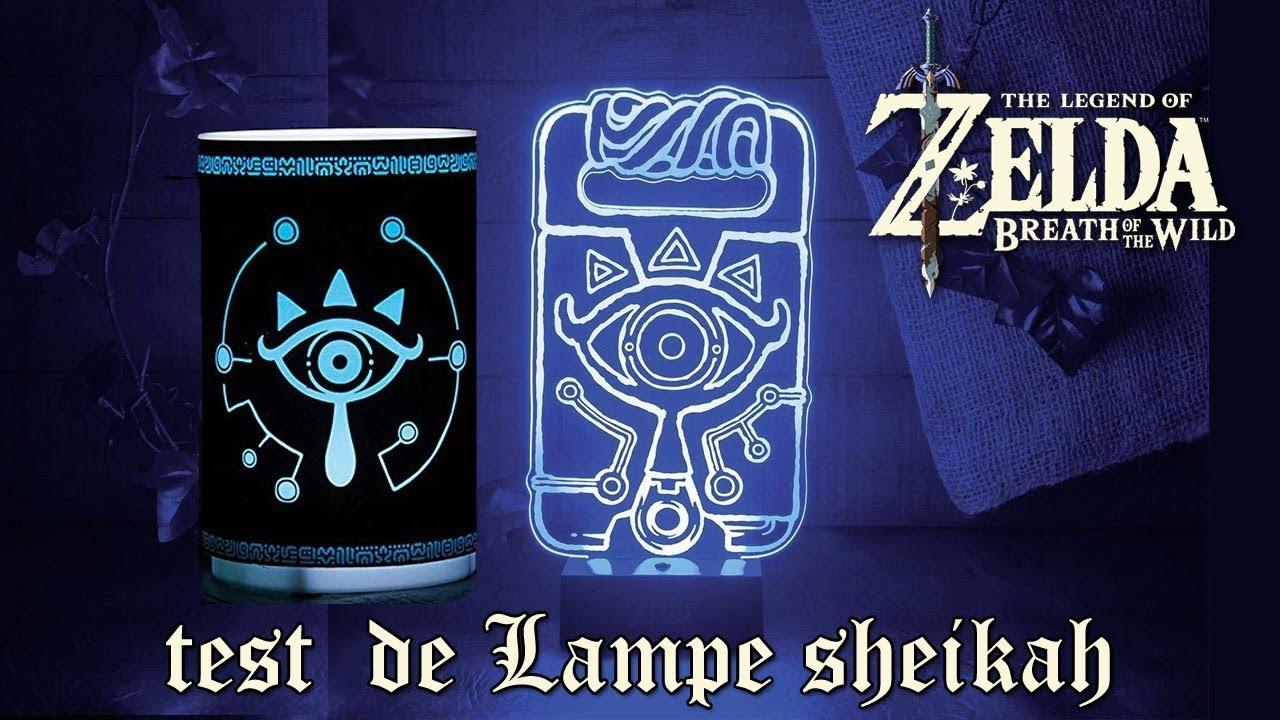 Wow Presentation De 2 Lampes Sheikah Zelda Breath To The Wild
