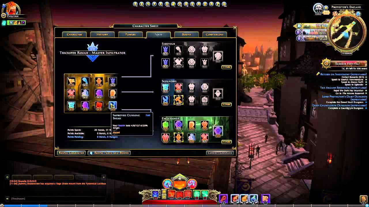 Neverwinter Mod  Warlock Best Build For Dps