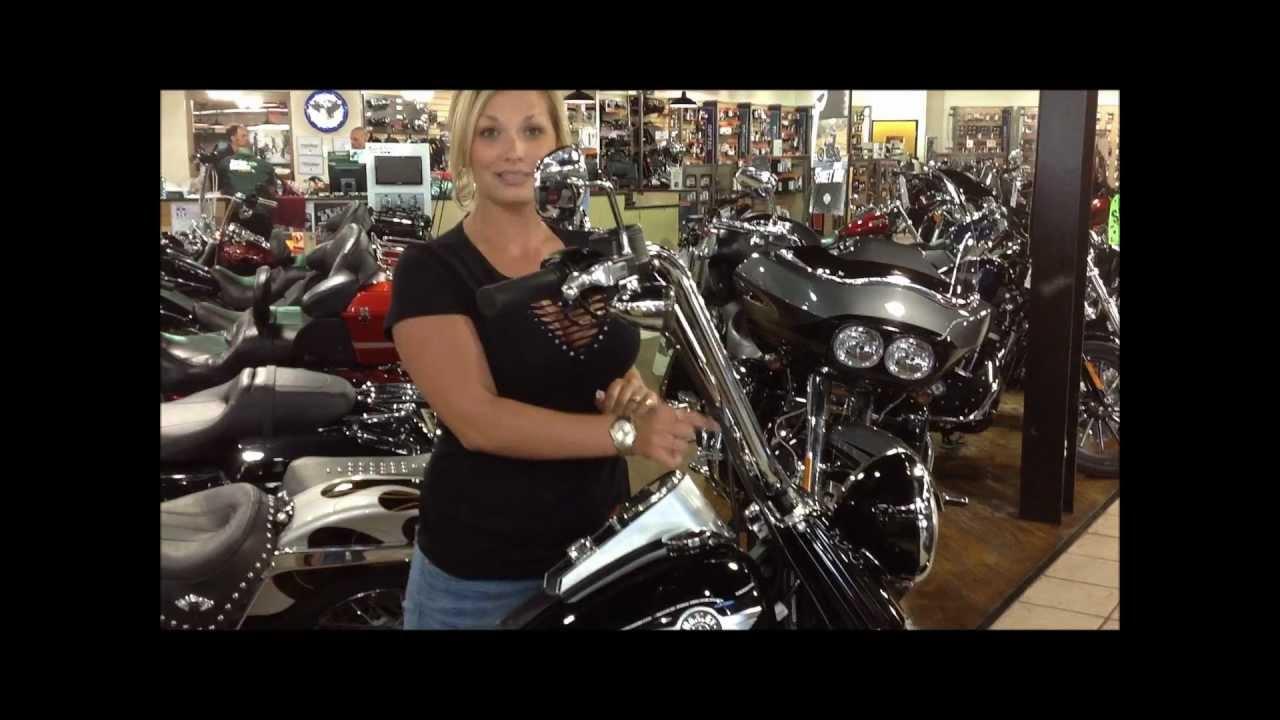 """Dallas Harley Davidson >> FOR SALE: Amanda's HOTT 2012 Custom """"Fat Boy Lo"""" FLSTFB! Ready for a New Home! - YouTube"""