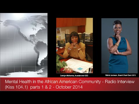 Mental Health in the African American Community (radio) Pt. 1 and 2