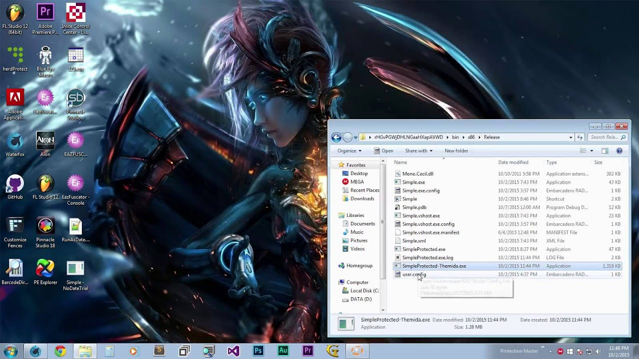 Unpack Themida -  NET Executables