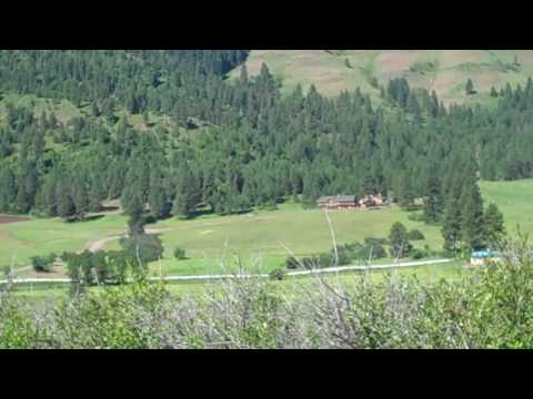From Our Property in Council Idaho, Looking Down at Hornet Creek.mp4