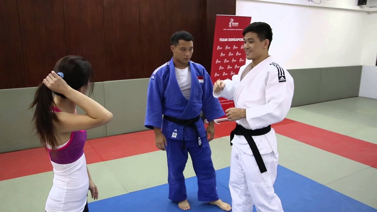 Throwing techniques in Judo - ActiveSG